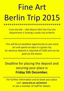 Berlin Trip: Book now!