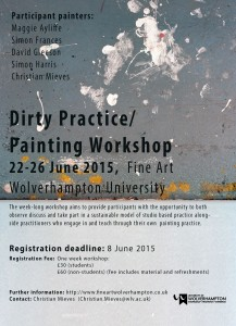 Dirty Practice/ Painting Workshop
