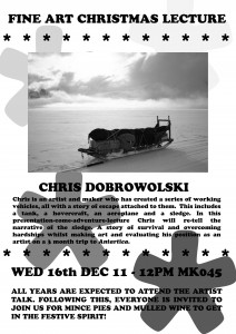 Fine Art Christmas Lecture