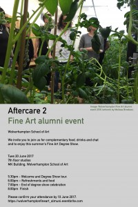 After Care 2 Fine Art Alumni Event