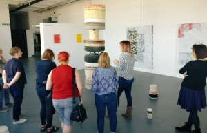 Degree Show Crit with Cheryl Jones, Grand Union, WolverhamptonSchoolOfArt