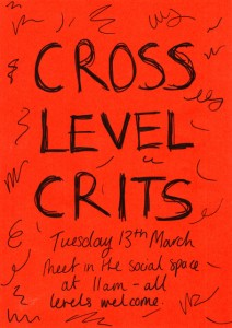 Cross Year Tutorials 13th March